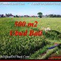 FOR SALE Magnificent 500 m2 LAND IN UBUD BALI TJUB545