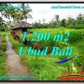 Magnificent UBUD BALI 1,200 m2 LAND FOR SALE TJUB559