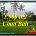 Magnificent UBUD BALI 1,000 m2 LAND FOR SALE TJUB570