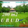 Magnificent UBUD BALI 200 m2 LAND FOR SALE TJUB584
