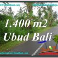 Beautiful PROPERTY 1,400 m2 LAND IN Ubud Tegalalang FOR SALE TJUB612