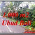 Exotic 1,000 m2 LAND IN UBUD BALI FOR SALE TJUB614