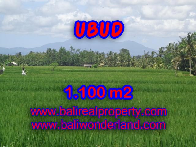Land for sale in Ubud, Fantastic view in Central Ubud Bali – TJUB354