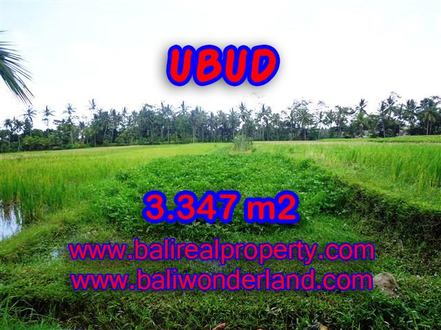 Land for sale in Bali, exceptional view in Ubud Center – TJUB380