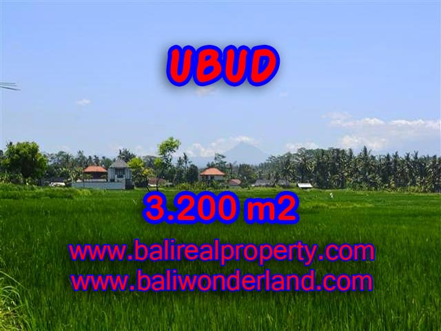 Land for sale in Bali, Fantastic view in Ubud Center – TJUB385
