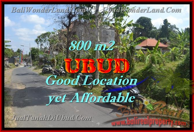 Land for sale in Ubud, Stunning view in Ubud Center Bali – TJUB426