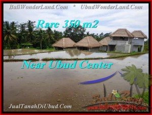 Beautiful UBUD BALI 350 m2 LAND FOR SALE TJUB476