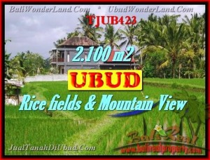 FOR SALE Beautiful 2,100 m2 LAND IN UBUD TJUB423