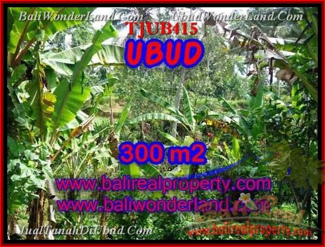 Beautiful PROPERTY 300 m2 LAND SALE IN UBUD BALI TJUB415