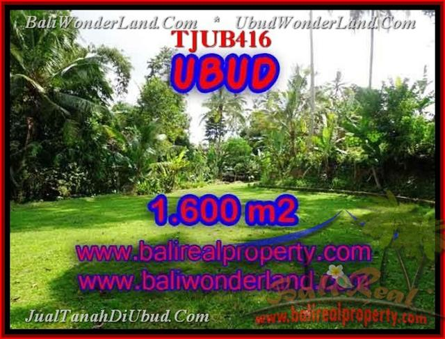 Affordable UBUD 1,600 m2 LAND FOR SALE TJUB416