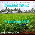 Magnificent PROPERTY 360 m2 LAND IN Ubud Tegalalang FOR SALE TJUB482