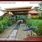 FOR SALE Beautiful PROPERTY LAND IN UBUD TJUB491