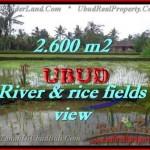 Affordable 2,600 m2 LAND FOR SALE IN UBUD BALI TJUB421