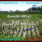 Beautiful PROPERTY 300 m2 LAND SALE IN Sentral Ubud TJUB500