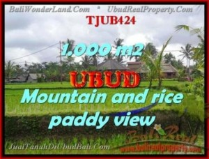 Affordable 1,000 m2 LAND IN UBUD BALI FOR SALE TJUB424