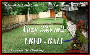 335 m2 LAND SALE IN UBUD TJUB537