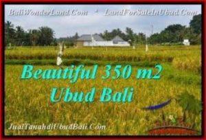 Exotic PROPERTY 350 m2 LAND IN Sentral Ubud FOR SALE TJUB540
