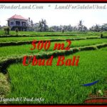 FOR SALE Magnificent PROPERTY 500 m2 LAND IN Sentral Ubud TJUB543