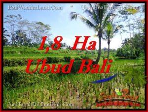 Beautiful PROPERTY LAND IN UBUD BALI FOR SALE TJUB553