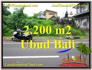 FOR SALE Exotic LAND IN Sentral Ubud BALI TJUB565