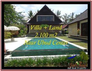 2,190 m2 LAND SALE IN UBUD BALI TJUB530
