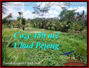 Affordable PROPERTY Ubud Pejeng 450 m2 LAND FOR SALE TJUB535