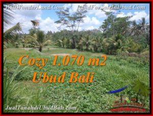 FOR SALE Magnificent PROPERTY 1,070 m2 LAND IN Sentral Ubud TJUB536