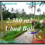 UBUD BALI 2,380 m2 LAND FOR SALE TJUB567