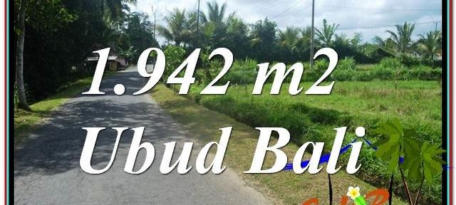 Magnificent PROPERTY LAND FOR SALE IN UBUD TJUB626