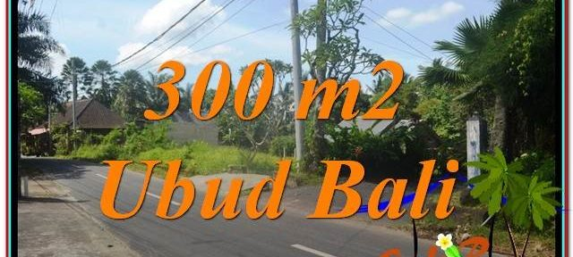Beautiful PROPERTY 300 m2 LAND FOR SALE IN Sentral / Ubud Center TJUB646