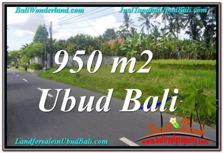 Magnificent LAND IN Sentral / Ubud Center FOR SALE TJUB648