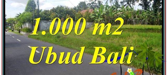 FOR SALE Affordable LAND IN Sentral / Ubud Center BALI TJUB649