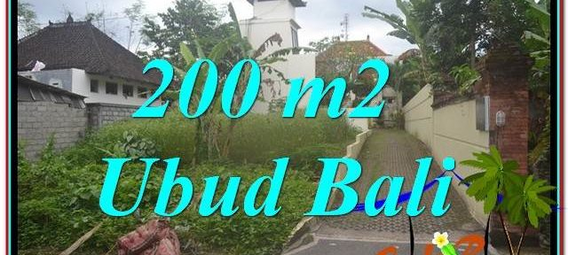 FOR SALE Beautiful LAND IN Sentral / Ubud Center BALI TJUB632