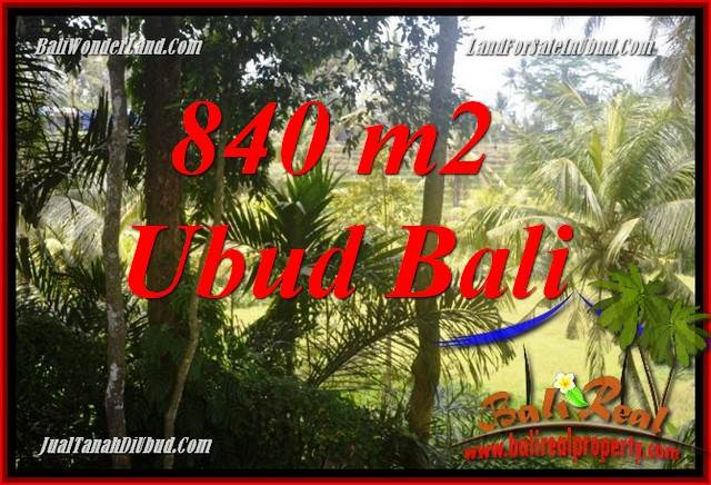 Exotic 840 m2 Land for sale in Ubud Lod Tunduh TJUB685