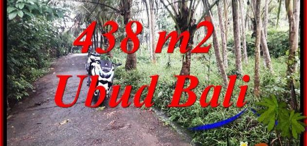 Beautiful 438 m2 Land in Ubud Pejeng for sale TJUB689