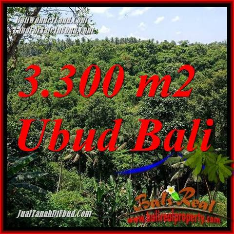 Beautiful Property 3,300 m2 Land in Sentral Ubud Bali for sale TJUB692