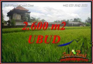 Land sale in Ubud Pejeng Bali TJUB701