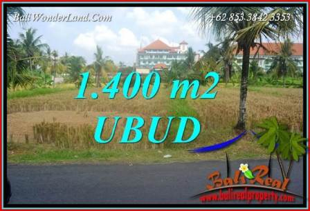 Magnificent Land in Ubud for sale TJUB709