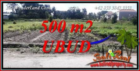 Magnificent Land sale in Ubud TJUB720