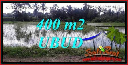 Affordable Property Sentral Ubud 400 m2 Land for sale TJUB721