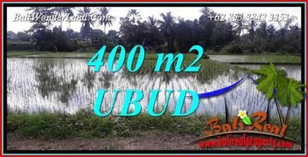 Affordable Property Sentral Ubud 400 m2 Land for sale TJUB721