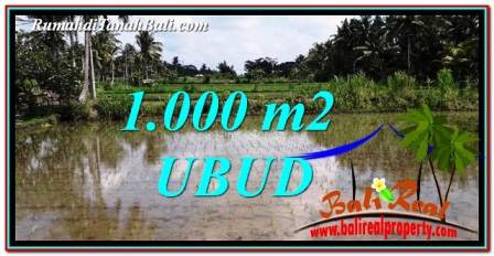 Beautiful LAND FOR SALE IN UBUD TJUB753