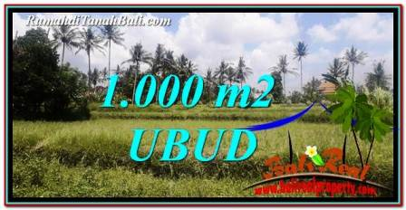 Exotic PROPERTY LAND SALE IN UBUD TJUB754