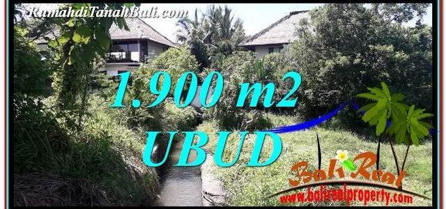 Beautiful PROPERTY 1,900 m2 LAND IN Ubud Gianyar BALI FOR SALE TJUB759