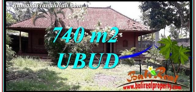 Beautiful 740 m2 LAND FOR SALE IN Ubud Pejeng TJUB764