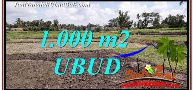 Exotic PROPERTY 1,000 m2 LAND SALE IN Sentral Ubud TJUB765