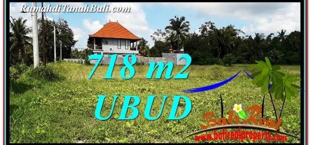 Exotic PROPERTY LAND IN UBUD BALI FOR SALE TJUB767