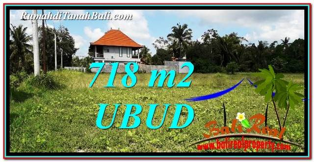 Affordable PROPERTY LAND FOR SALE IN UBUD BALI TJUB767